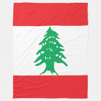 Cobertor De Velo Bandeira de Líbano