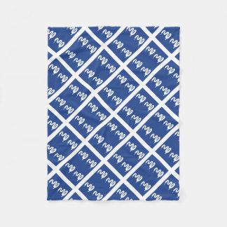 Cobertor De Velo Bandeira de Martinica