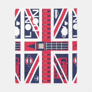 Cobertor De Velo bandeira do jaque de união do vintage com