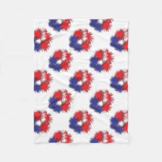 Cobertor De Velo Bandeira inchado dos EUA