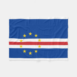 Cobertor De Velo Bandeira nacional do mundo de Cabo Verde