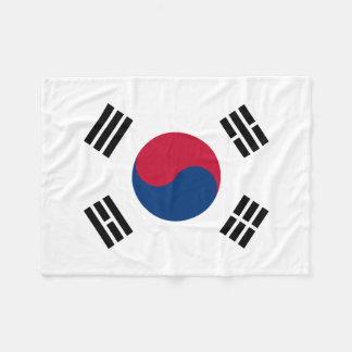 Cobertor De Velo Bandeira nacional do mundo de Coreia do Sul