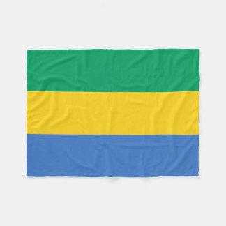 Cobertor De Velo Bandeira nacional do mundo de Gabon