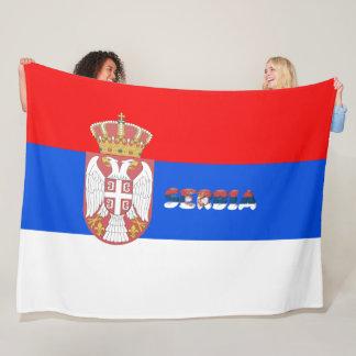 Cobertor De Velo Bandeira sérvio
