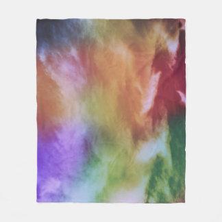 Cobertor De Velo Batik do arco-íris