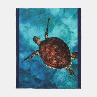 Cobertor De Velo Beleza da tartaruga de mar