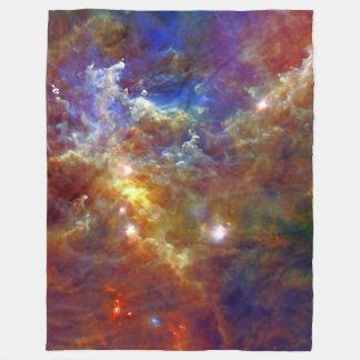 Cobertor De Velo Berçário estelar na nebulosa do Rosette