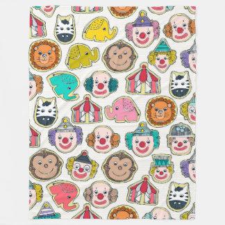 Cobertor De Velo biscoitos do circo multi