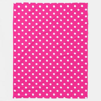 Cobertor De Velo Bolinhas cor-de-rosa