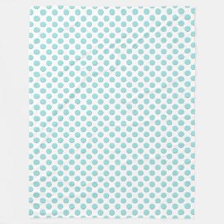 Cobertor De Velo Bolinhas do azul do Aqua de Shell do Limpet