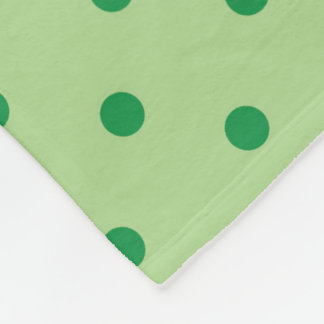 Cobertor De Velo Bolinhas verdes