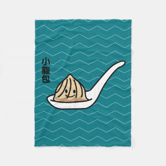 Cobertor De Velo Bolo chinês de Dim Sum da bolinha de massa da sopa