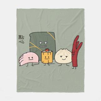 Cobertor De Velo Bolo chinês dos bolos da bolinha de massa de Bao