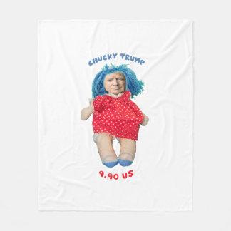 Cobertor De Velo Boneca de Chucky Donald Trump