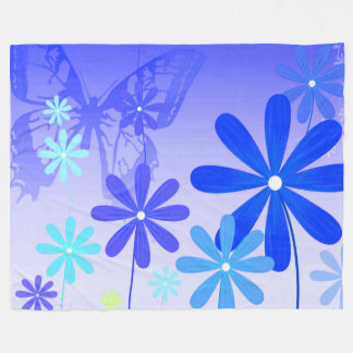 Cobertor De Velo Borboletas 3 da flor do duende