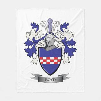 Cobertor De Velo Brasão da crista da família de Boyd