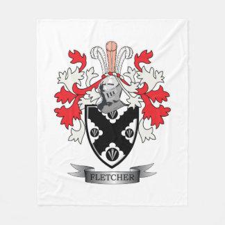Cobertor De Velo Brasão da crista da família de Fletcher