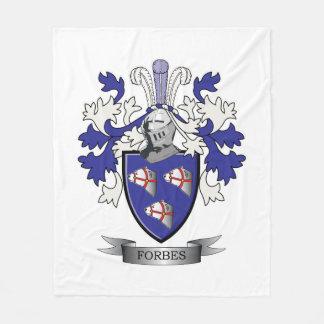 Cobertor De Velo Brasão da crista da família de Forbes