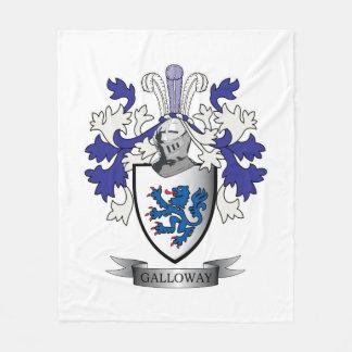 Cobertor De Velo Brasão da crista da família de Galloway