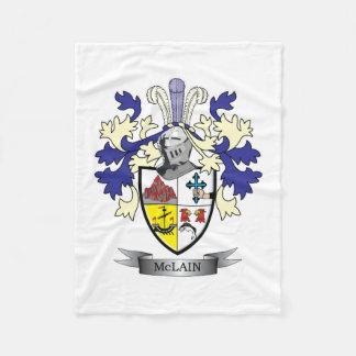 Cobertor De Velo Brasão da crista da família de McLain
