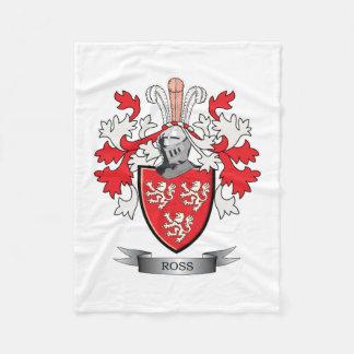 Cobertor De Velo Brasão da crista da família de Ross