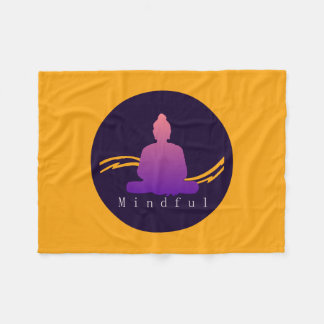 "Cobertor De Velo Buddha. bonito ""consciente"""