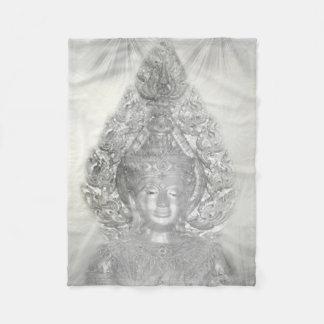 Cobertor De Velo buddha de prata voa a cobertura