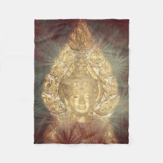 Cobertor De Velo buddha dourado voa a cobertura