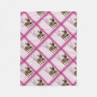 Cobertor De Velo Buldogue francês