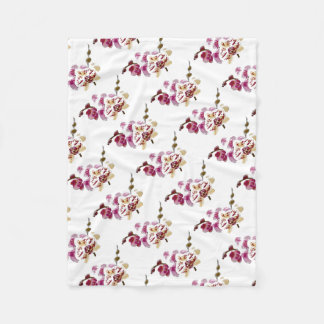 Cobertor De Velo Buquê da flor da orquídea do Phalaenopsis