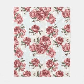 Cobertor De Velo Buquê tirado romântico das rosas vermelhas do