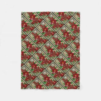 Cobertor De Velo Buquê vermelho