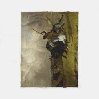 Cobertor De Velo Caçador do búfalo
