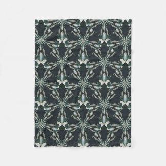 Cobertor De Velo Caleidoscópio da estrela do lírio de Calla