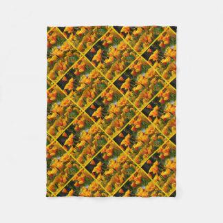 Cobertor De Velo Califórnia alaranjada Poppies_3.3.y