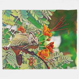Cobertor De Velo Camaleão Sunlit