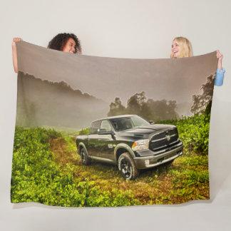 Cobertor De Velo Caminhão grande clássico fora da arte do acrílico