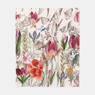 Cobertor De Velo Campo brilhante do primavera. Teste padrão