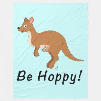 Cobertor De Velo Canguru do Mama e do bebê: Seja Hoppy!