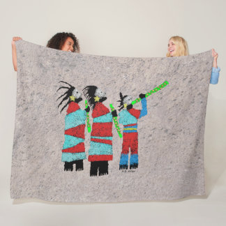 Cobertor De Velo Canto dos Shamans