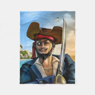 Cobertor De Velo Capitão Pequeno Velo Cobertura do pirata