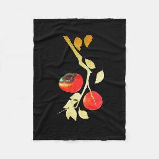 Cobertor De Velo Caqui com ramo do ouro