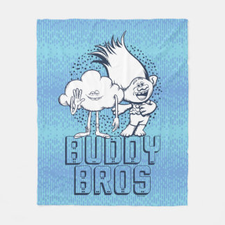 Cobertor De Velo Cara da nuvem dos troll | & ramo - amigo Bros