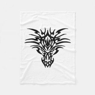 Cobertor De Velo Cara-Dragão-Tatuagem