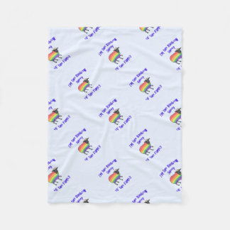 Cobertor De Velo Carneiros do arco-íris da família