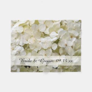 Cobertor De Velo Casamento floral do Hydrangea branco