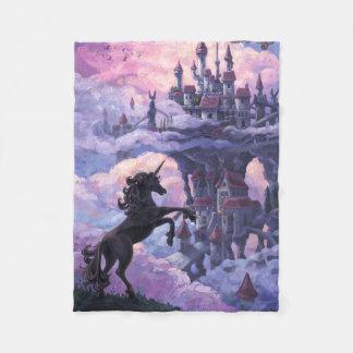 Cobertor De Velo Castelo do unicórnio