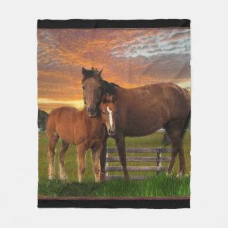 Cobertor De Velo Cavalo e pônei