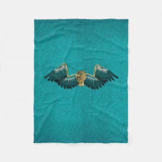 Cobertor De Velo Cerceta mecânica das asas de Steampunk