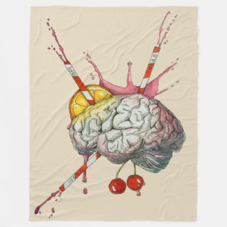 Cobertor De Velo Cérebro suculento